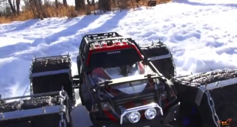 Custom RC Tire Chain Video