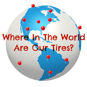 Where In The World Are Our Tires?