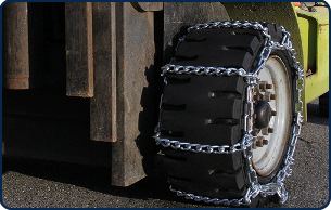 Tire Chains for Forklift