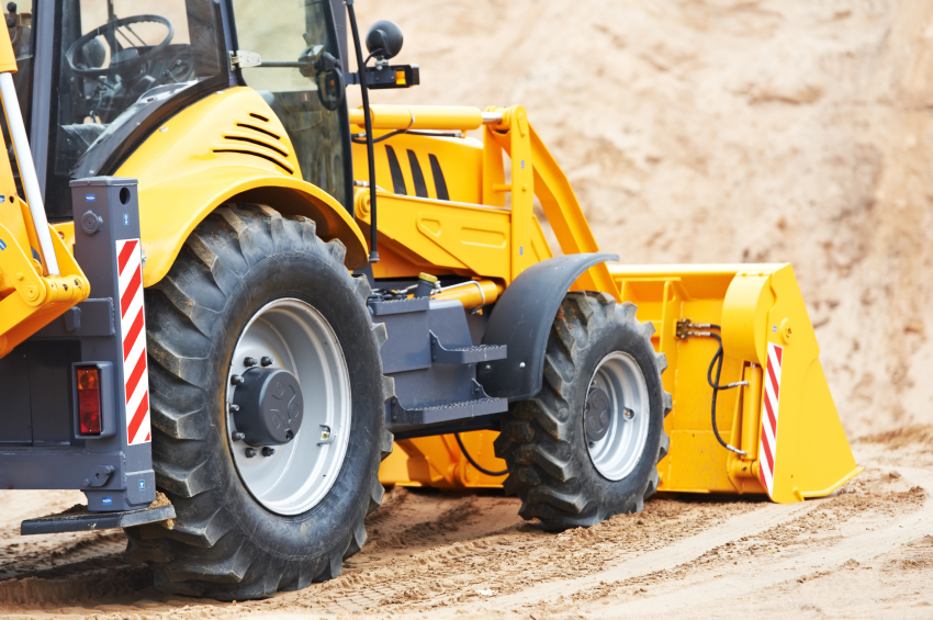Backhoe Tires: Tips from the Pros