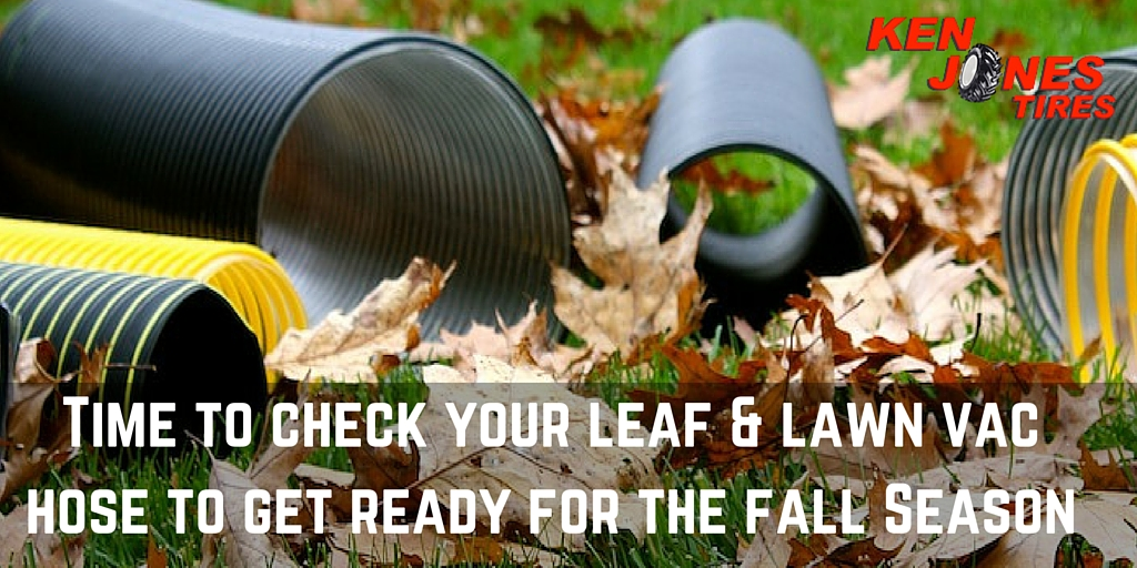Time to Check that Leaf Vacuum Hose