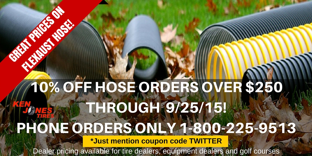Discount on Flexaust Vac Hose