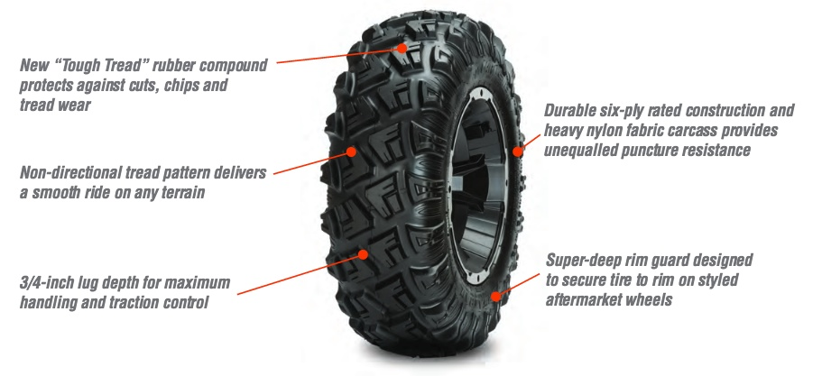 Photo of The New Carlisle Versa ATR Tire