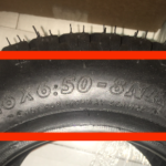 Mower Tire Size on a tire