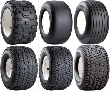 various tread styles