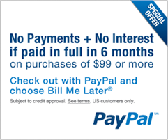 Purchase Specialty Tires with Paypal