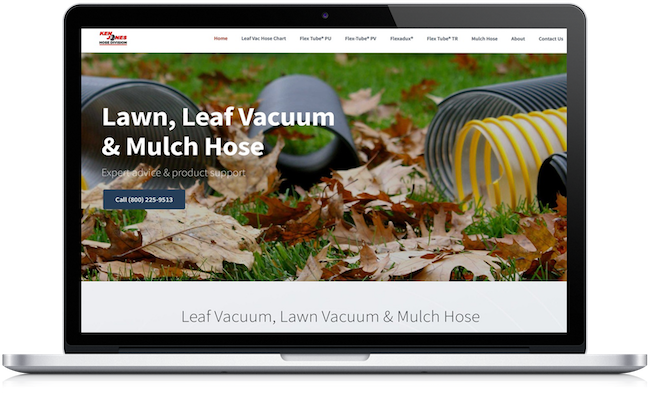 Leaf Vac Hose Site Relaunched